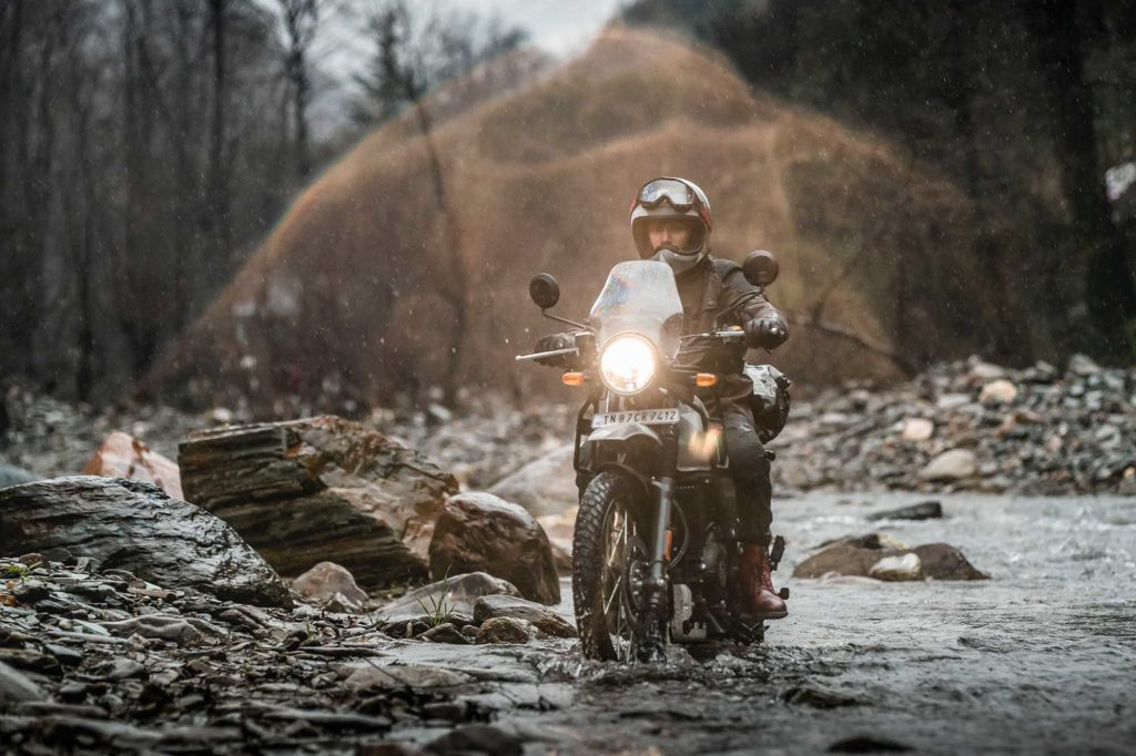 himalayan through water Automotive photography agency in india and middle east