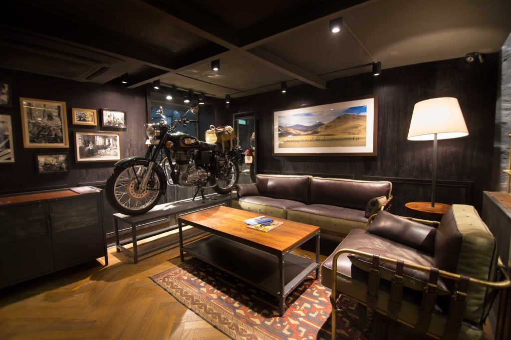 Architecture photography Royal Enfield Flagship Showroom Khan Market