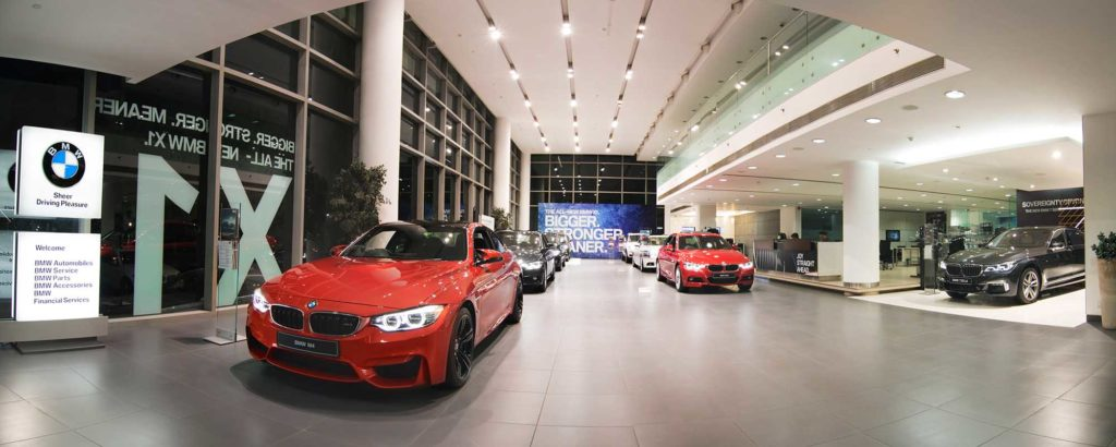 BMW showroom photoshoot gurgaon