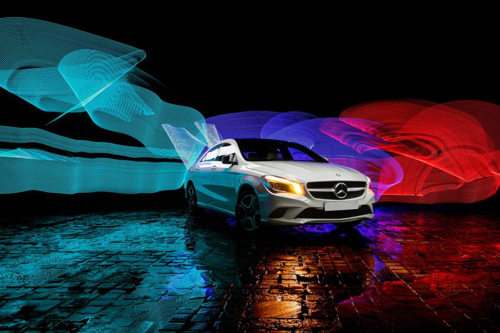 Mercedes Benz CLA PhotoShoot Campaign India 2020