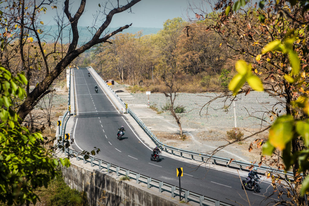 Trident 660 Media Ride India Launch in Uttrakhand